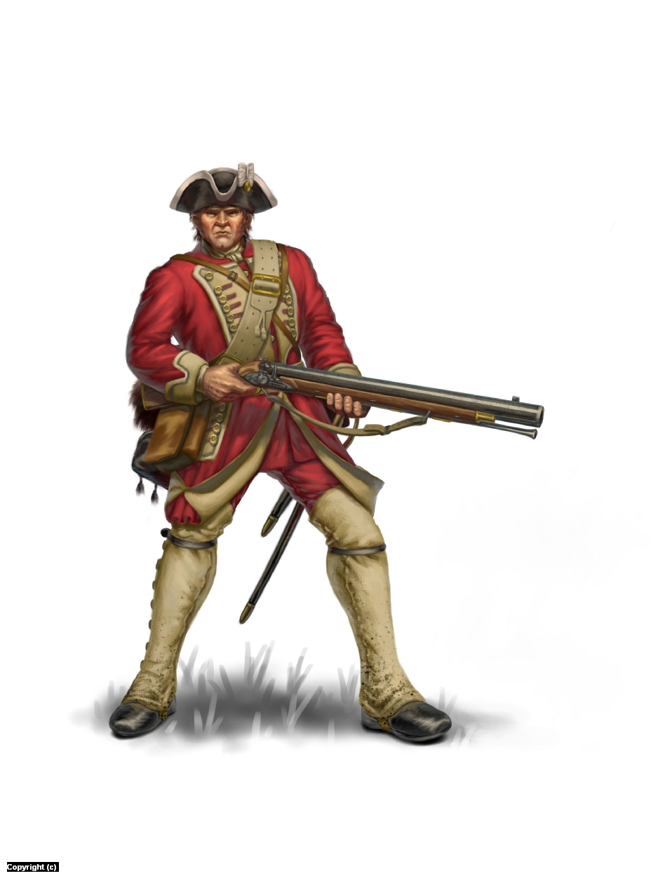 Redcoat Artwork by Joshua Dahle