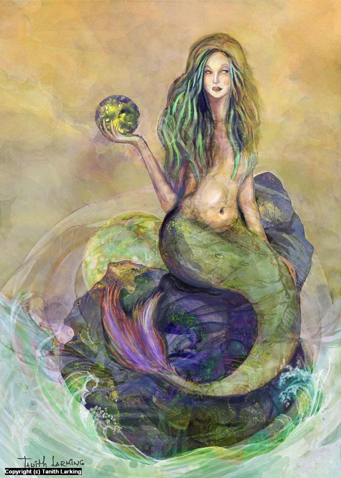 Peridot - The Siren Artwork by TS Larking