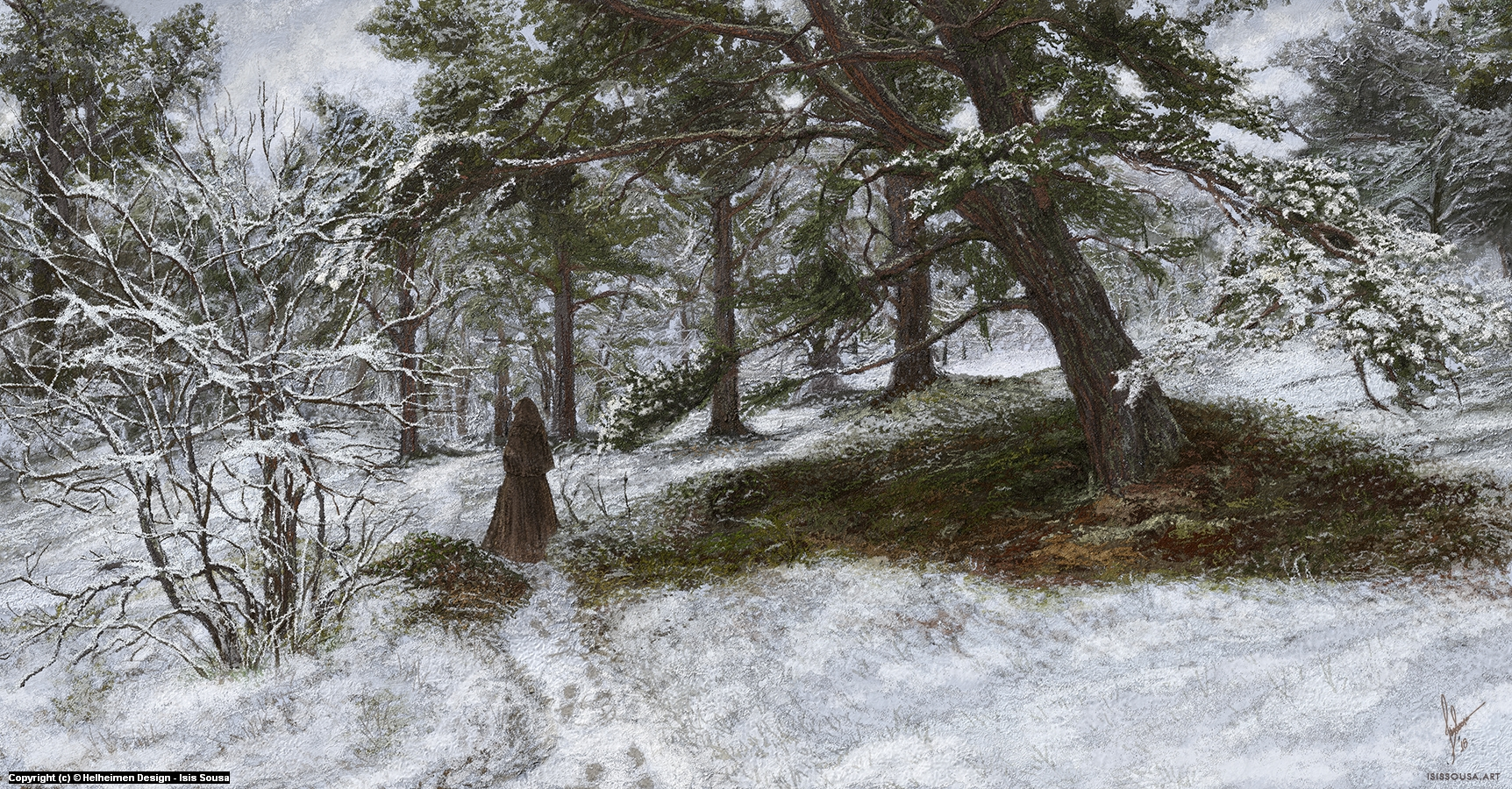 Jonsgård's path Artwork by Isis  Sousa