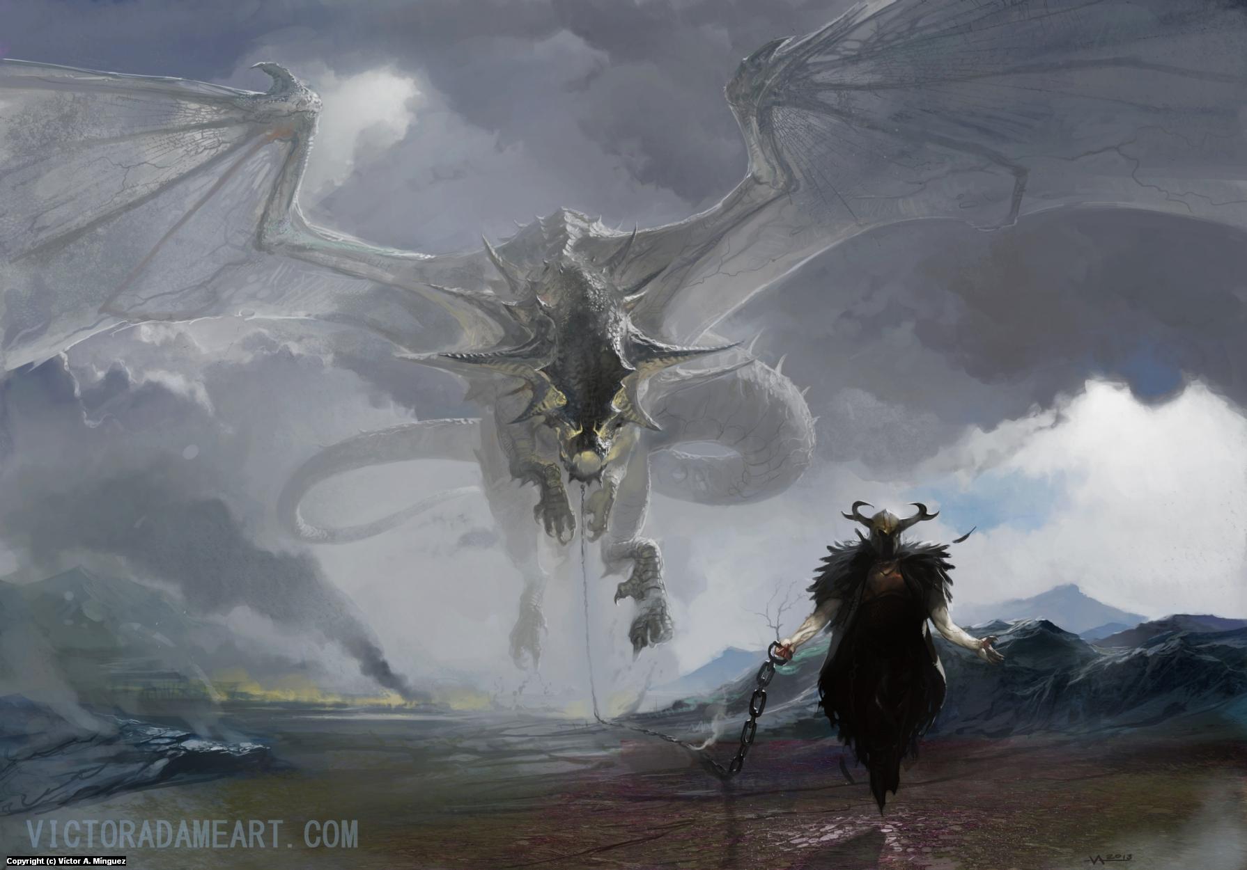 Keeper of gales Artwork by Victor Adame