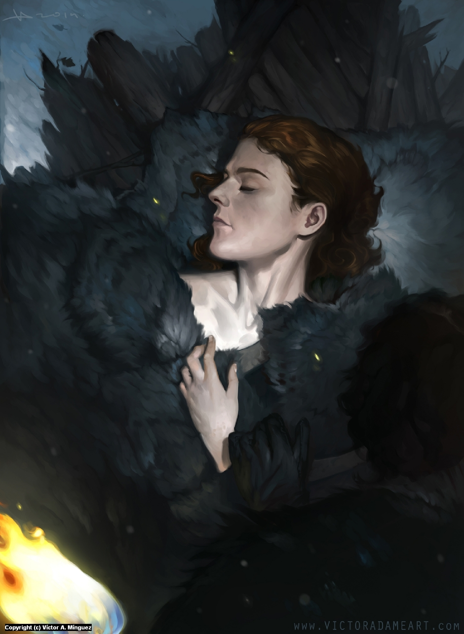 Ygritte Artwork by Victor Adame