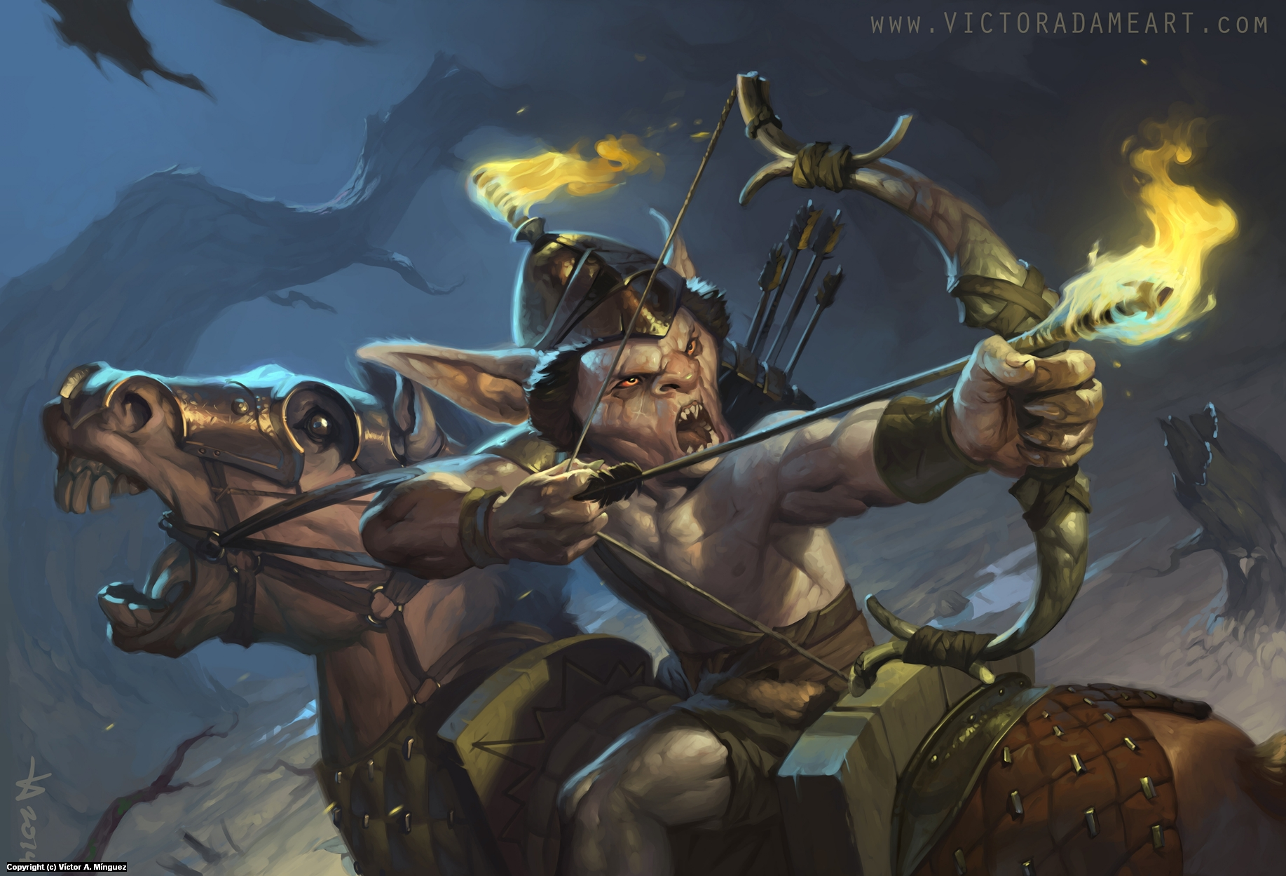 Mongobo Artwork by Victor Adame