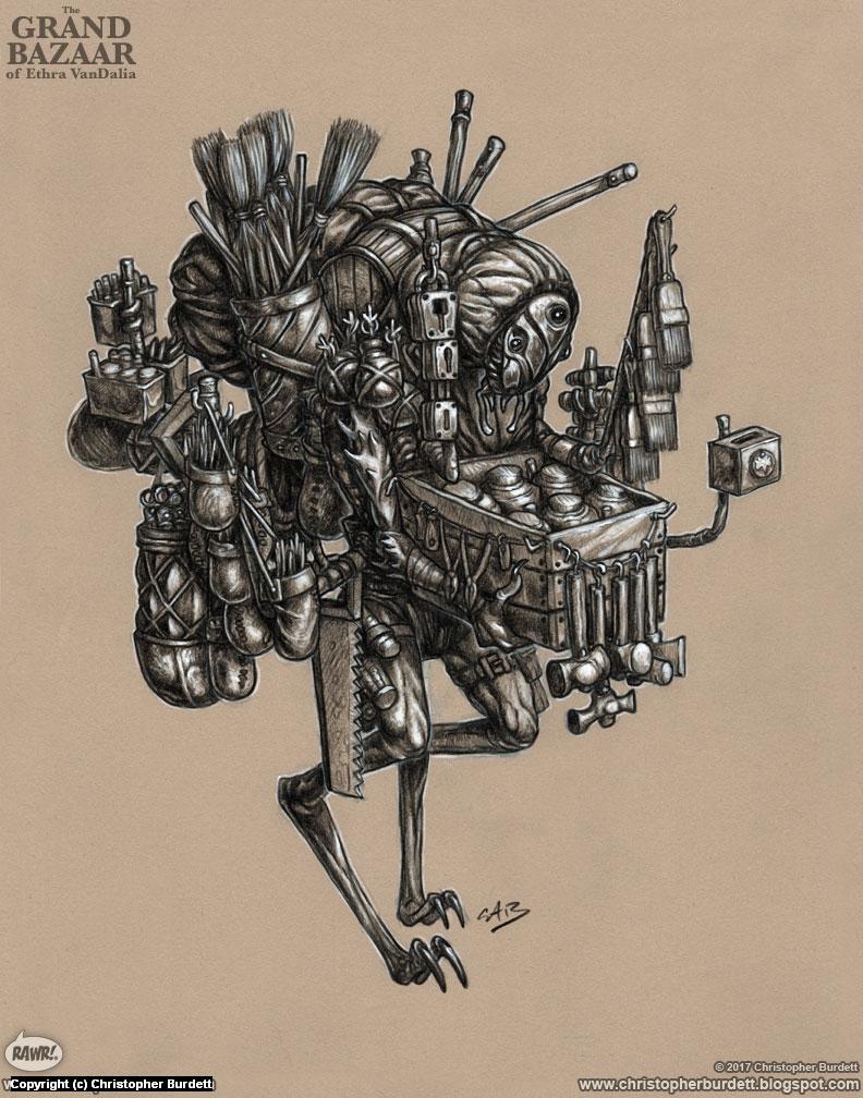 Quincaillerie Artwork by Christopher Burdett