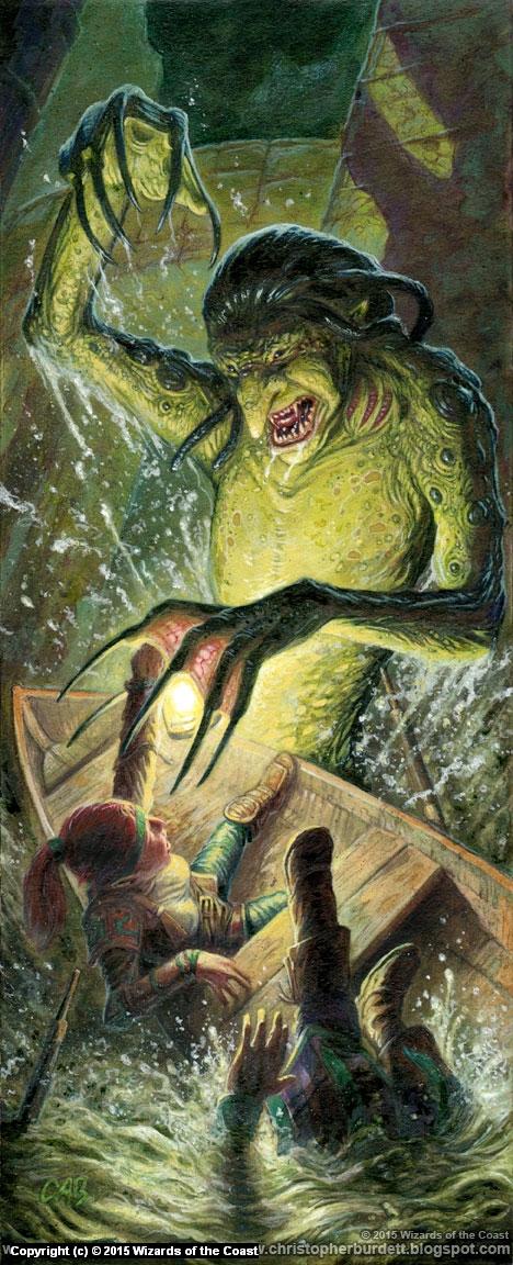 Scrag Attack Artwork by Christopher Burdett
