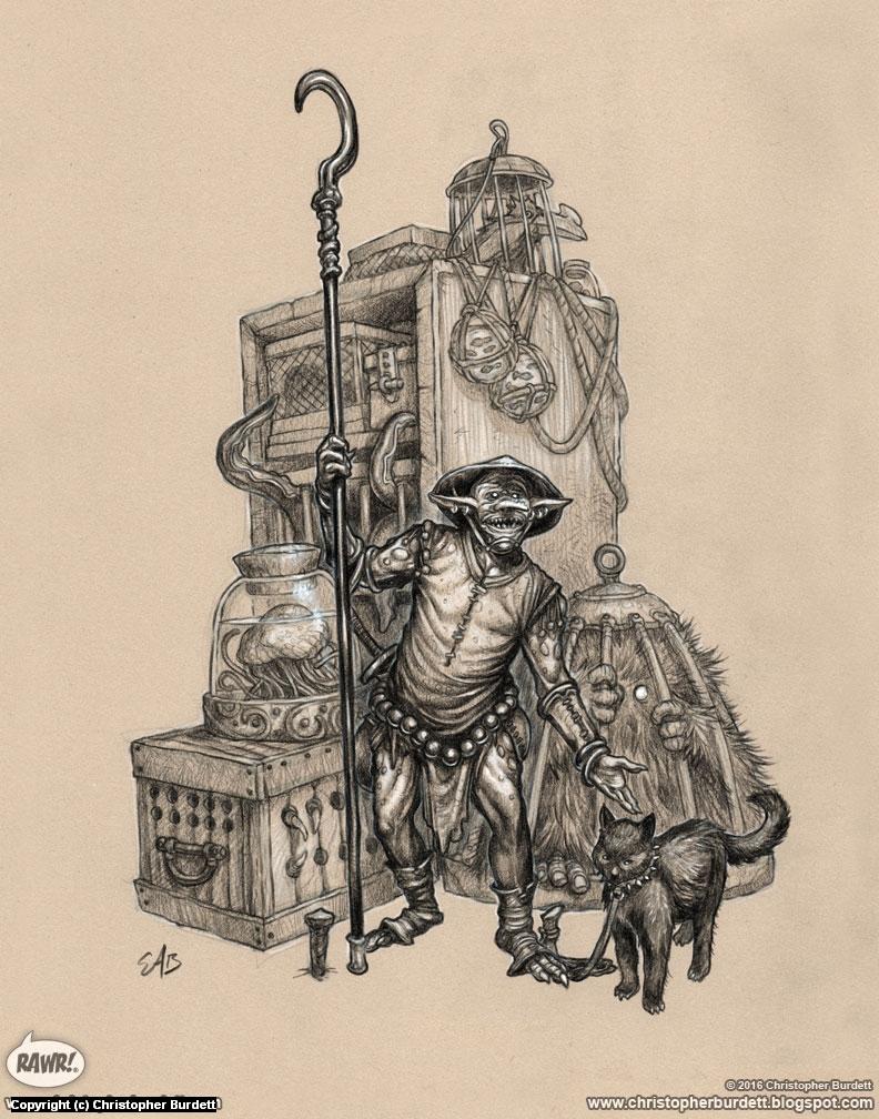 Kiplorbic Animal Dealer Artwork by Christopher Burdett