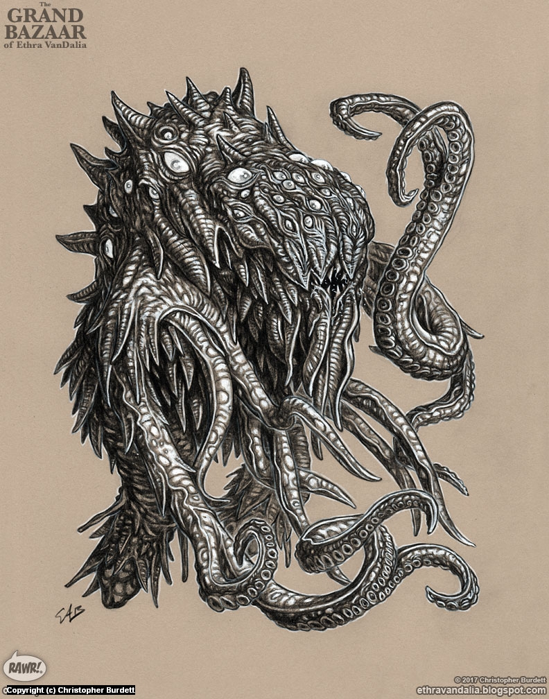 Rapacious Guttersnipe Artwork by Christopher Burdett