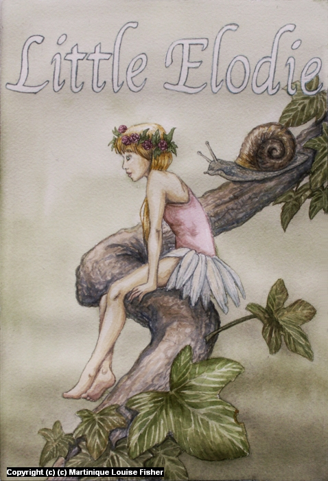 Little Elodie Artwork by Martinique Fisher