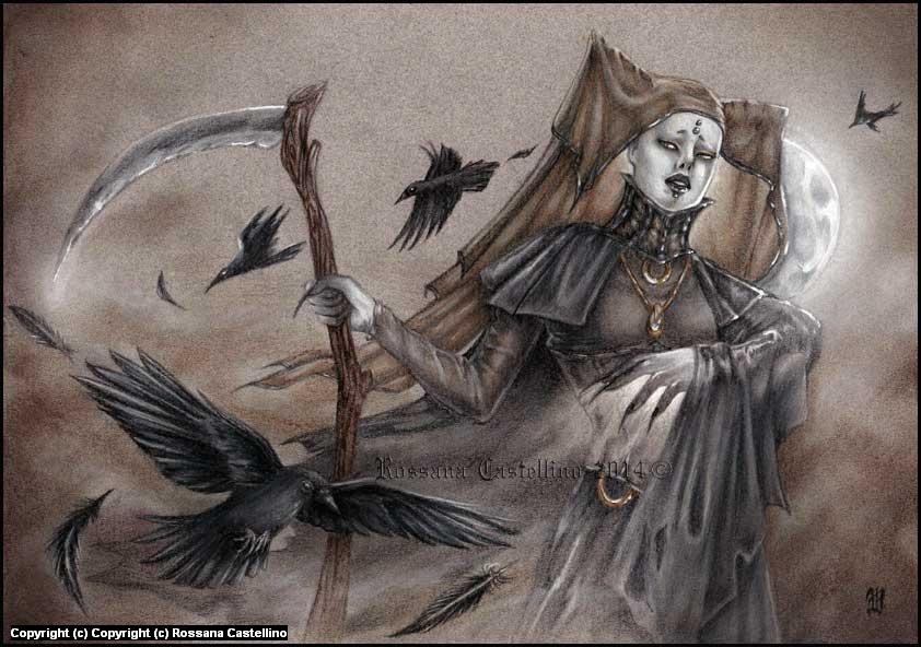Arcana Ma'am Artwork by Rossana Castellino
