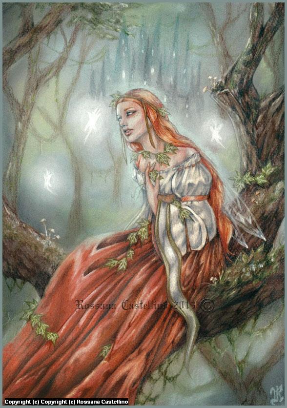 Fairy Whisper Artwork by Rossana Castellino