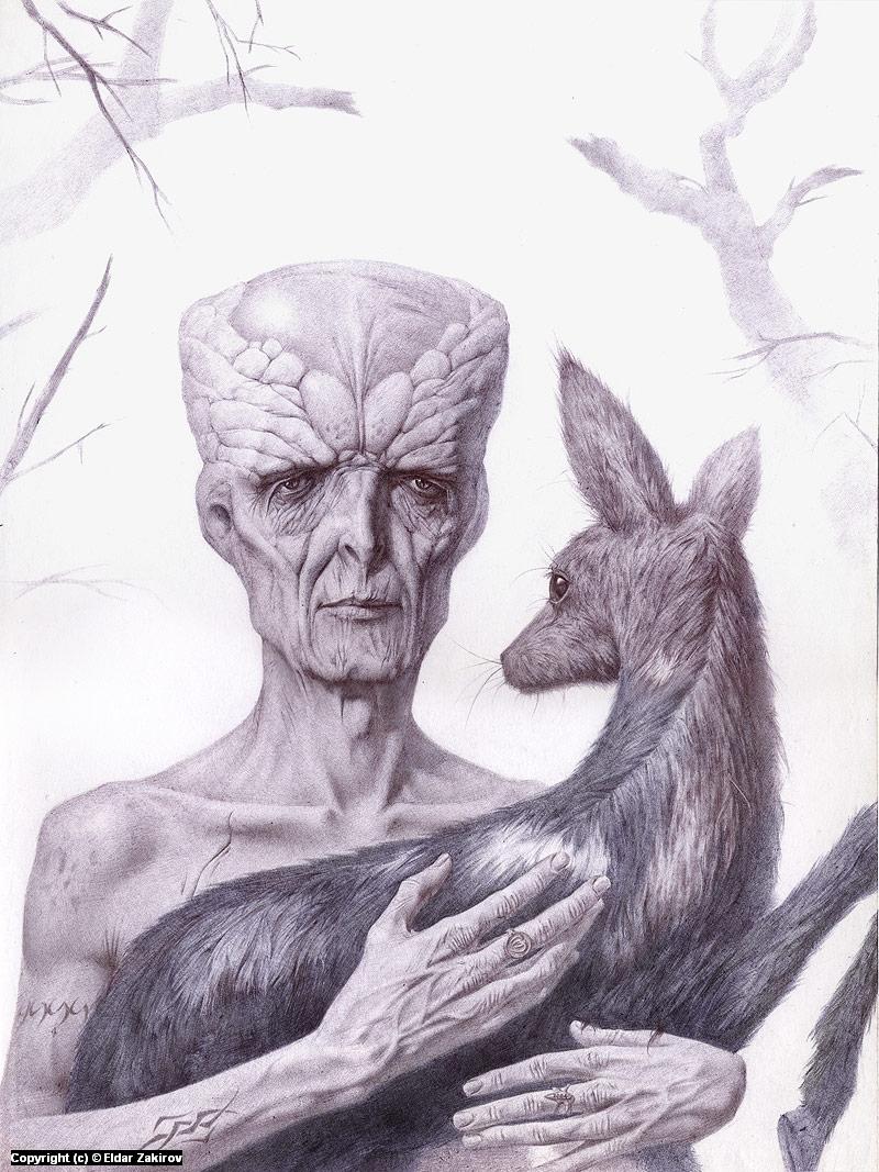 Humanity Artwork by Eldar Zakirov