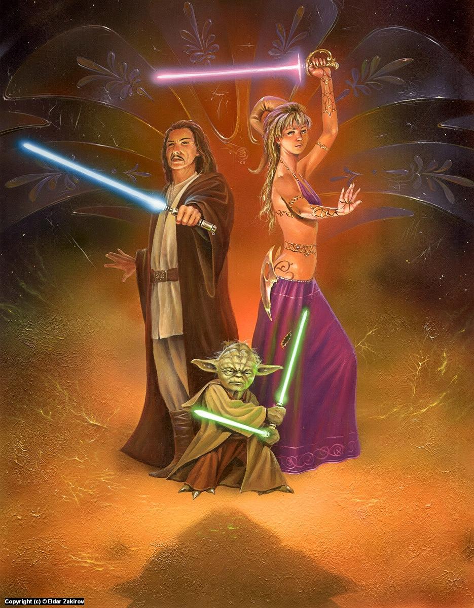 Rerevenge of Jedi Artwork by Eldar Zakirov