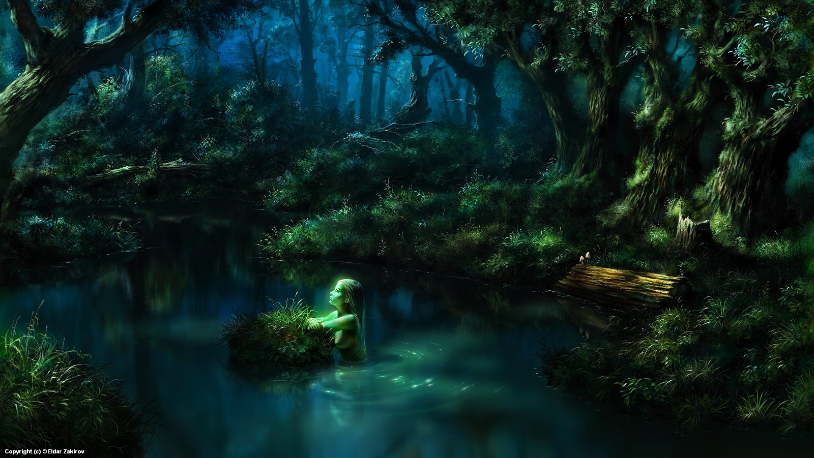 Night of memories Artwork by Eldar Zakirov