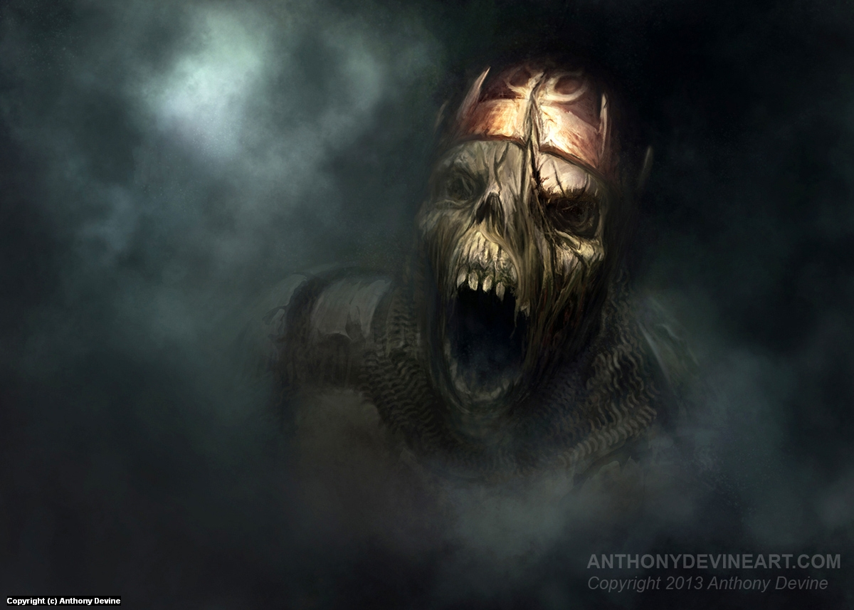 Call of the Undead Artwork by Anthony Devine