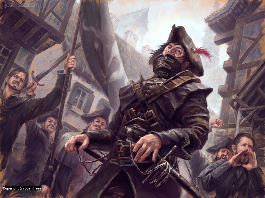 The Militia's Duelist Artwork by Josh Hass