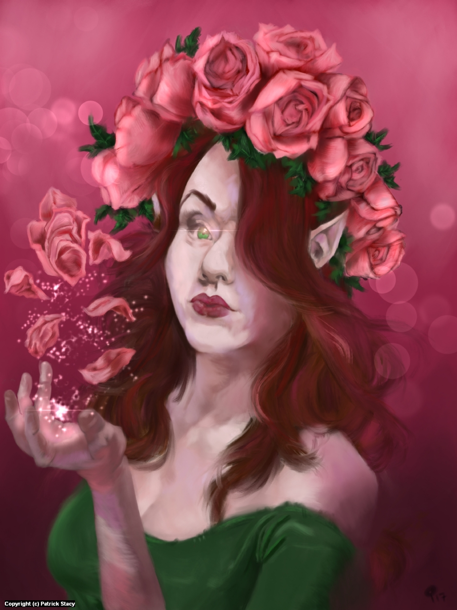 Rose Crown Artwork by Patrick Stacy