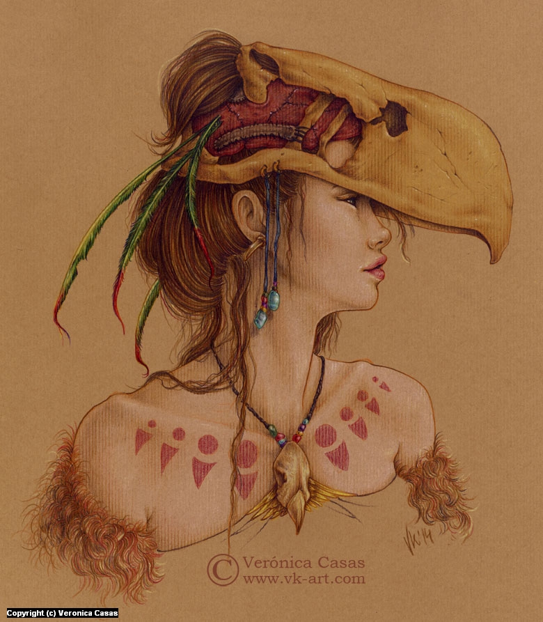 Titanis Walleri Artwork by Veronica Casas