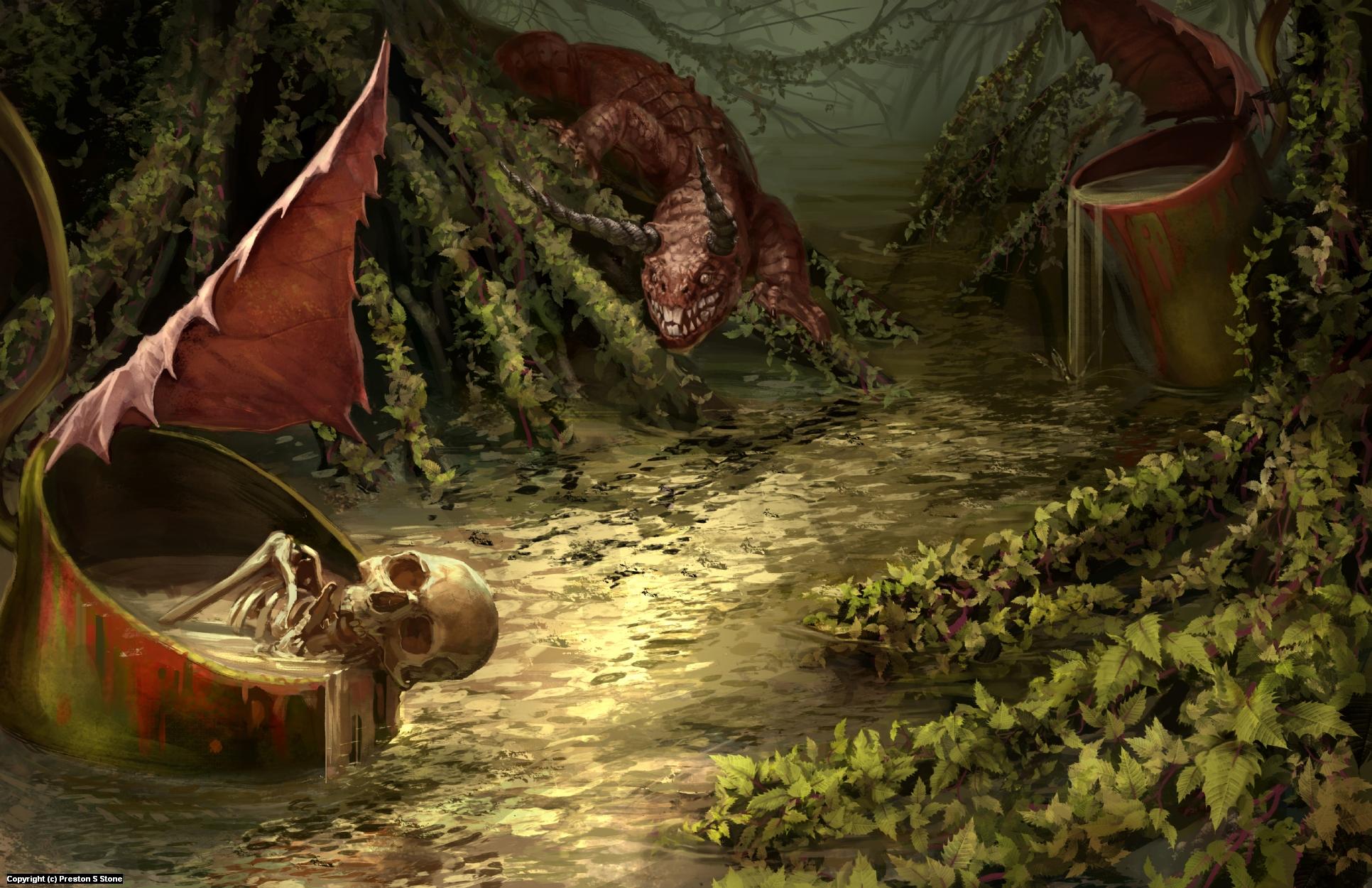 Diabolic Environment Artwork by Preston Stone