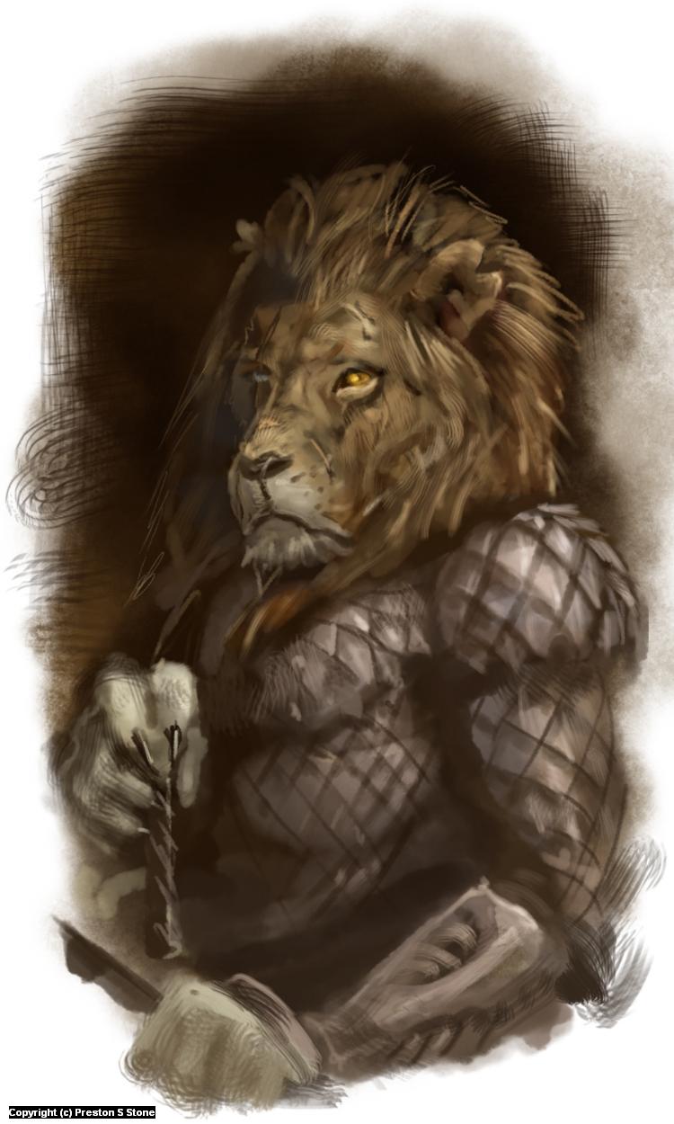 Guard Artwork by Preston Stone