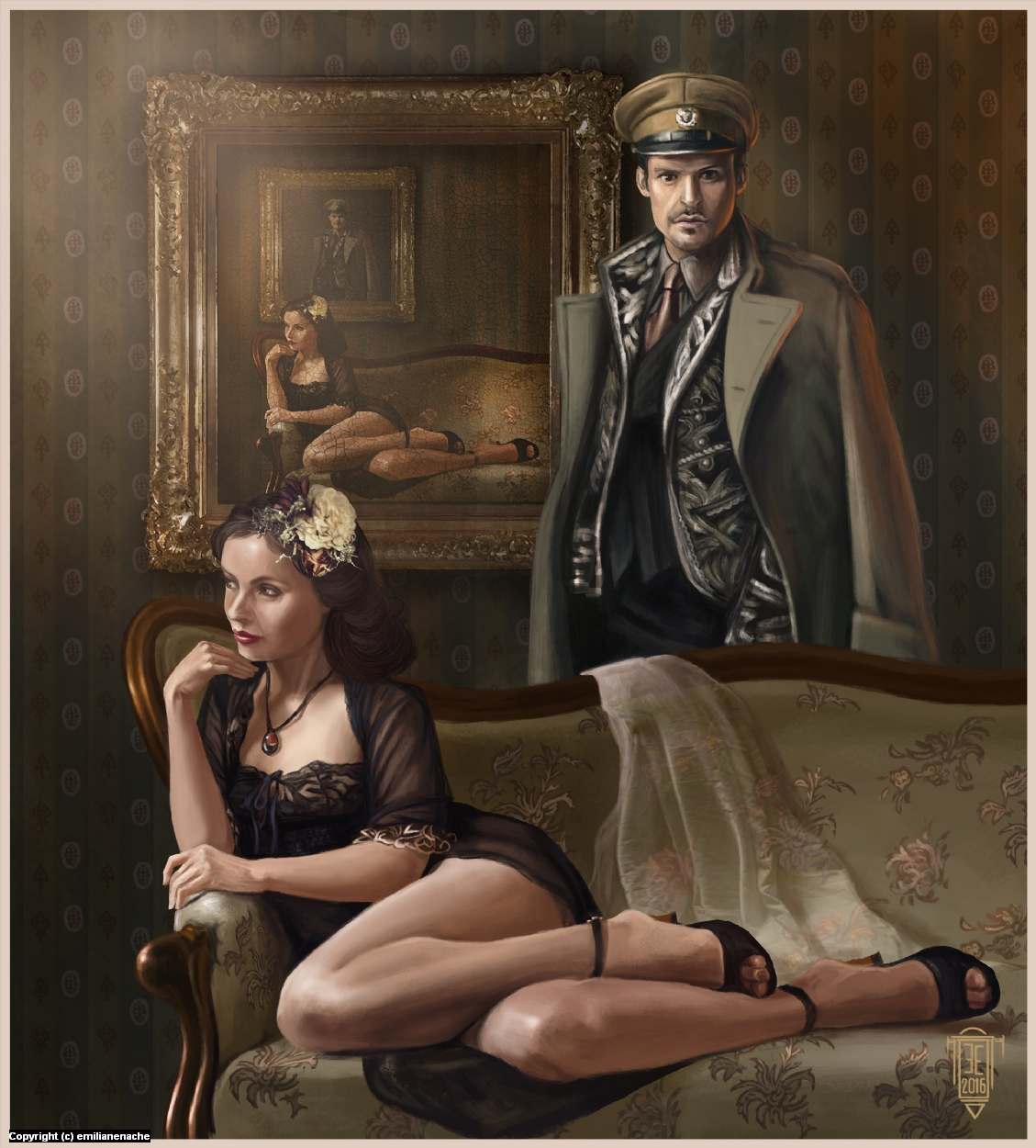 Memory of time  Artwork by Emilian Enache