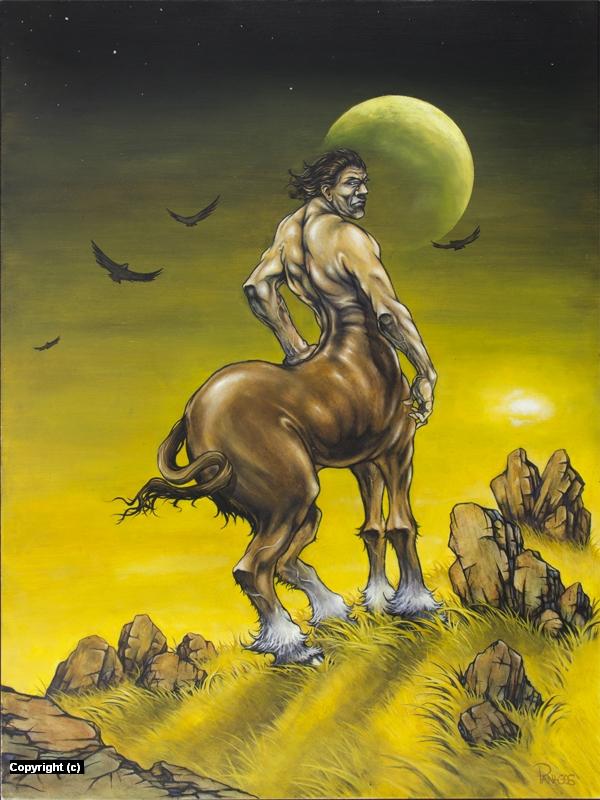 Centaur Artwork by Tim  Panagos