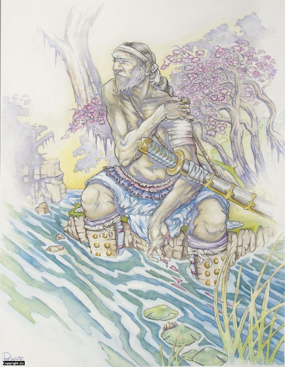 The Stream Artwork by Tim  Panagos