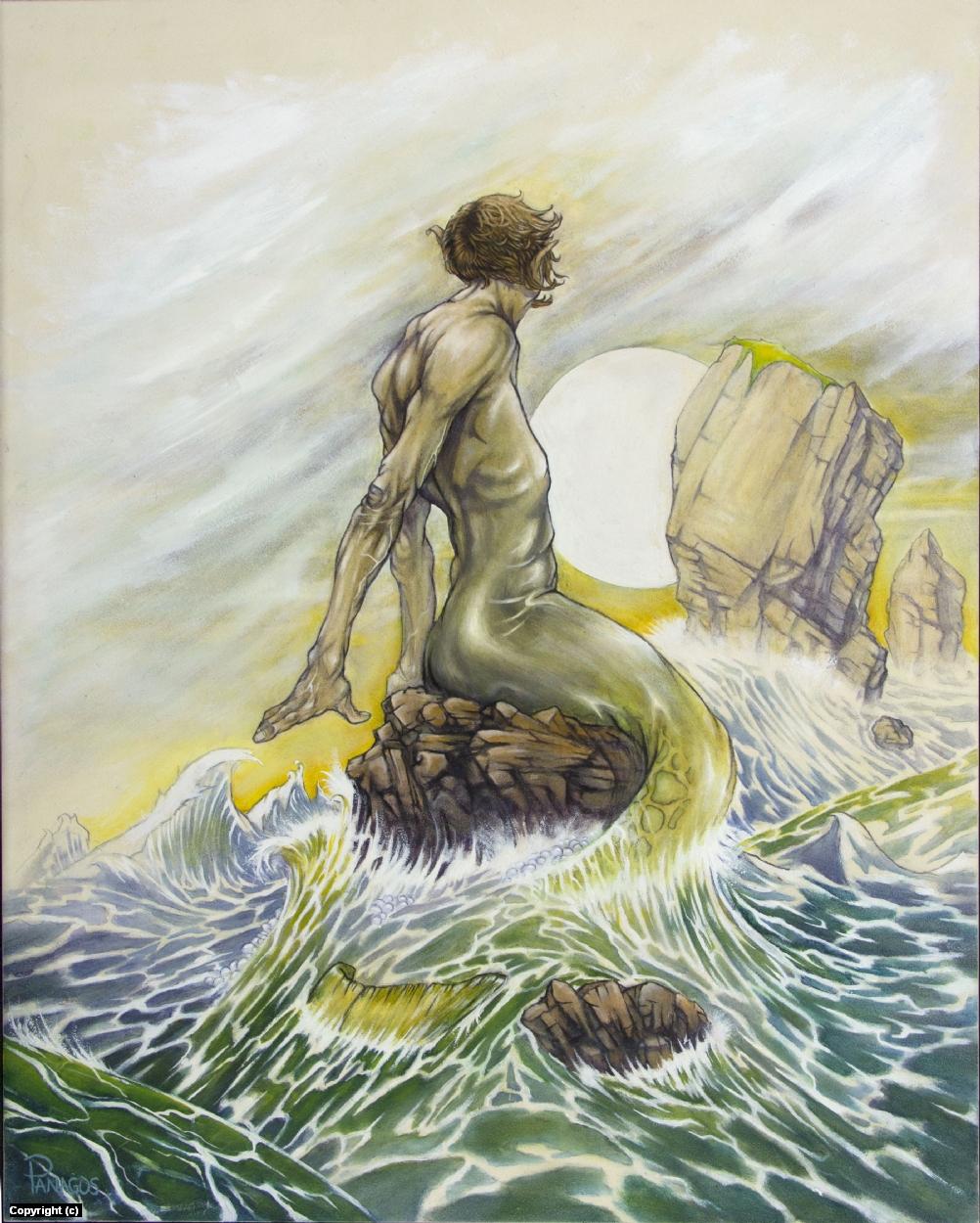 mermaids merman art on Instagram