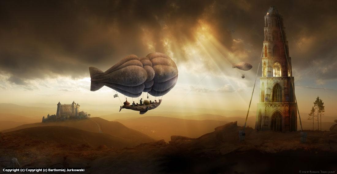 Endless Journey Artwork by Bartlomiej Jurkowski