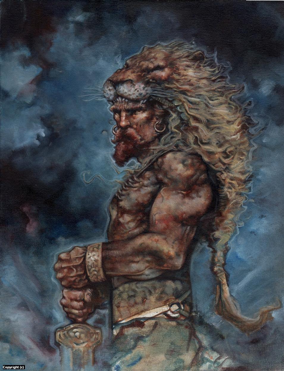 Hercules Artwork by Jeff Lafferty
