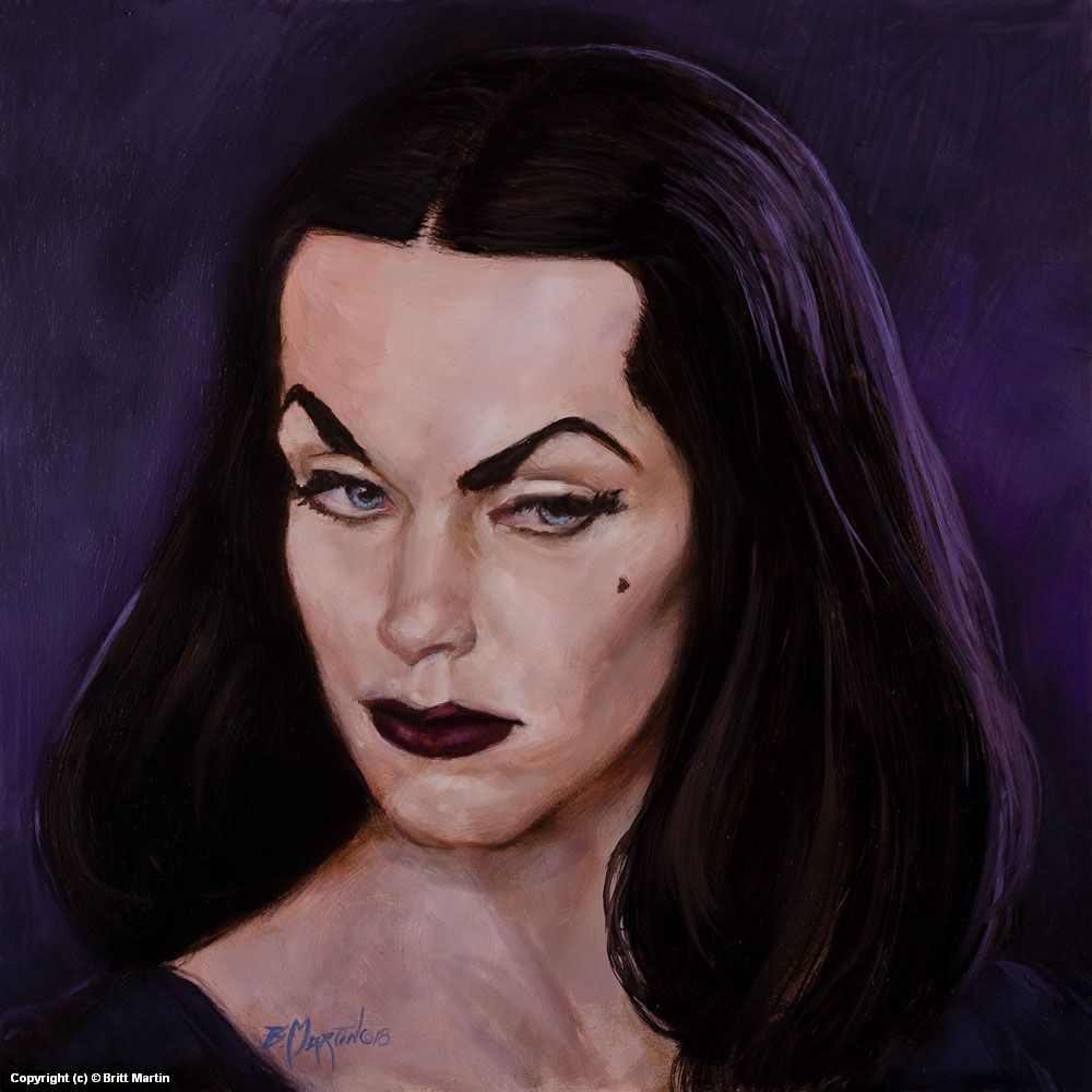 Vampira Artwork by Britt Martin