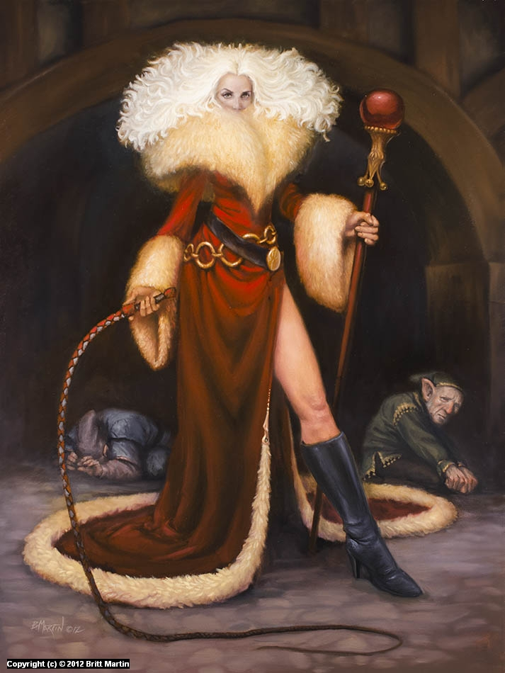 Mistress Klaus Artwork by Britt Martin