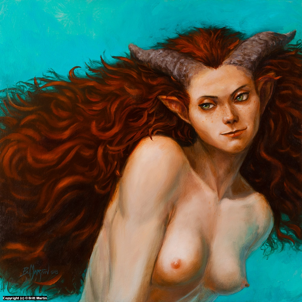 Succubus Artwork by Britt Martin