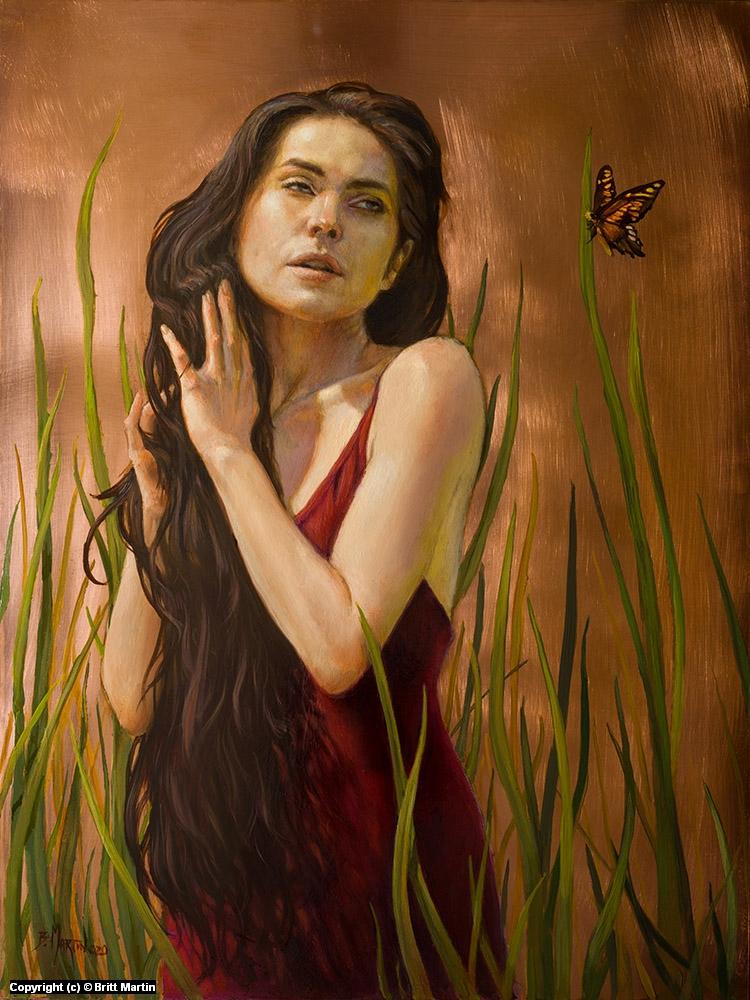 butterfly Artwork by Britt Martin