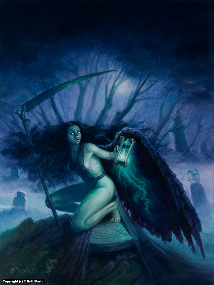 Angel of Death Artwork by Britt Martin