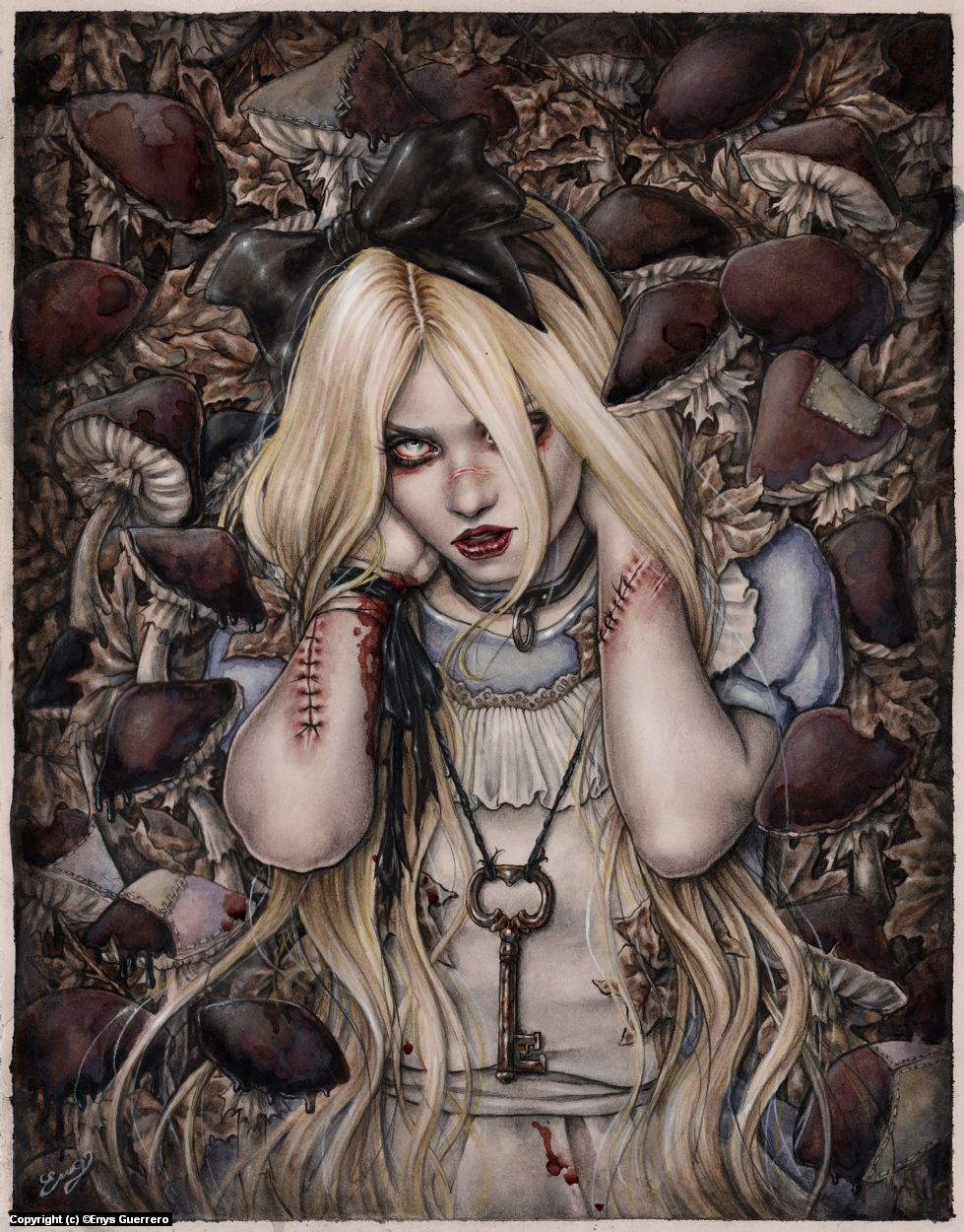 Not Your Alice  Artwork by Enys Guerrero
