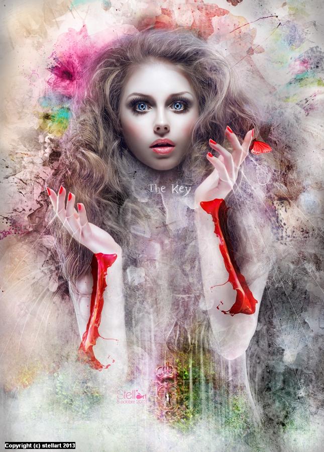 The Key Artwork by Estelle Chomienne