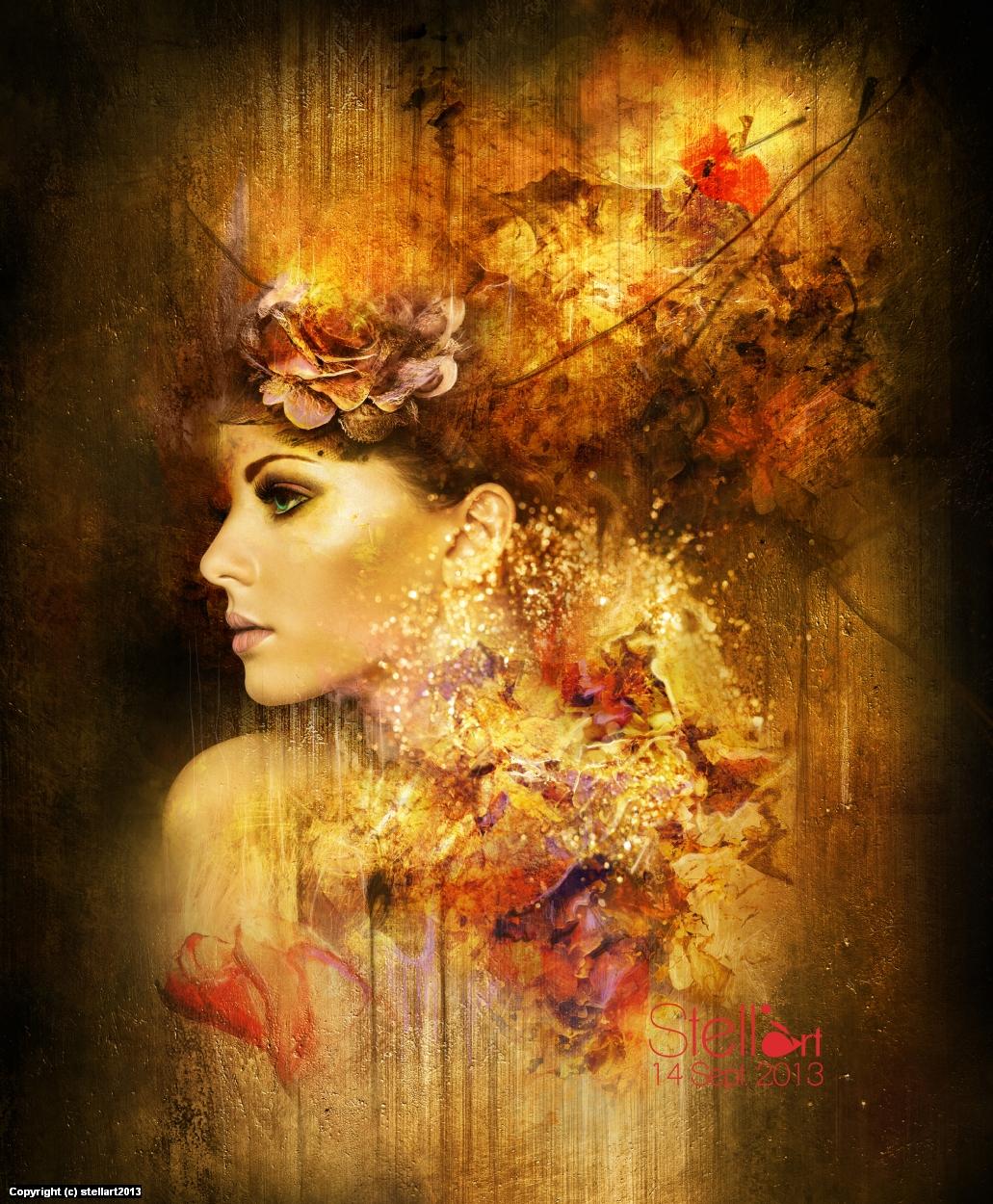 Poésie Artwork by Estelle Chomienne