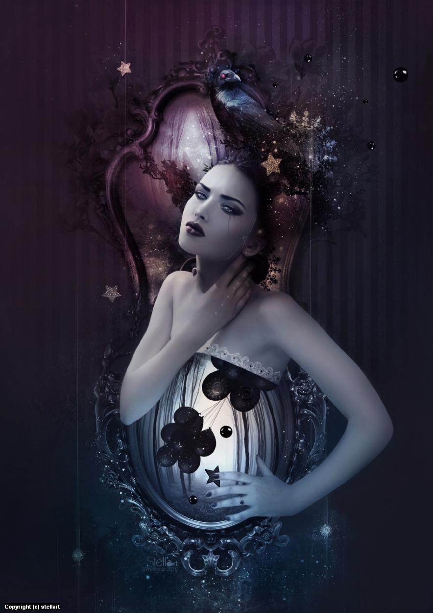 Dark circus Artwork by Estelle Chomienne
