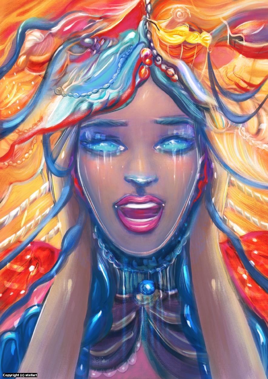 The scream Artwork by Estelle Chomienne