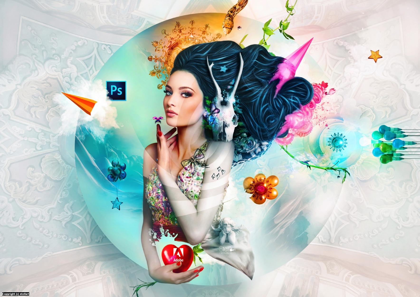 Garden of Eden Artwork by Estelle Chomienne