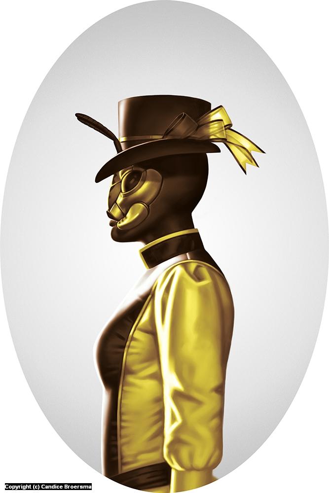 Wardeness Wasp Artwork by Candice Broersma