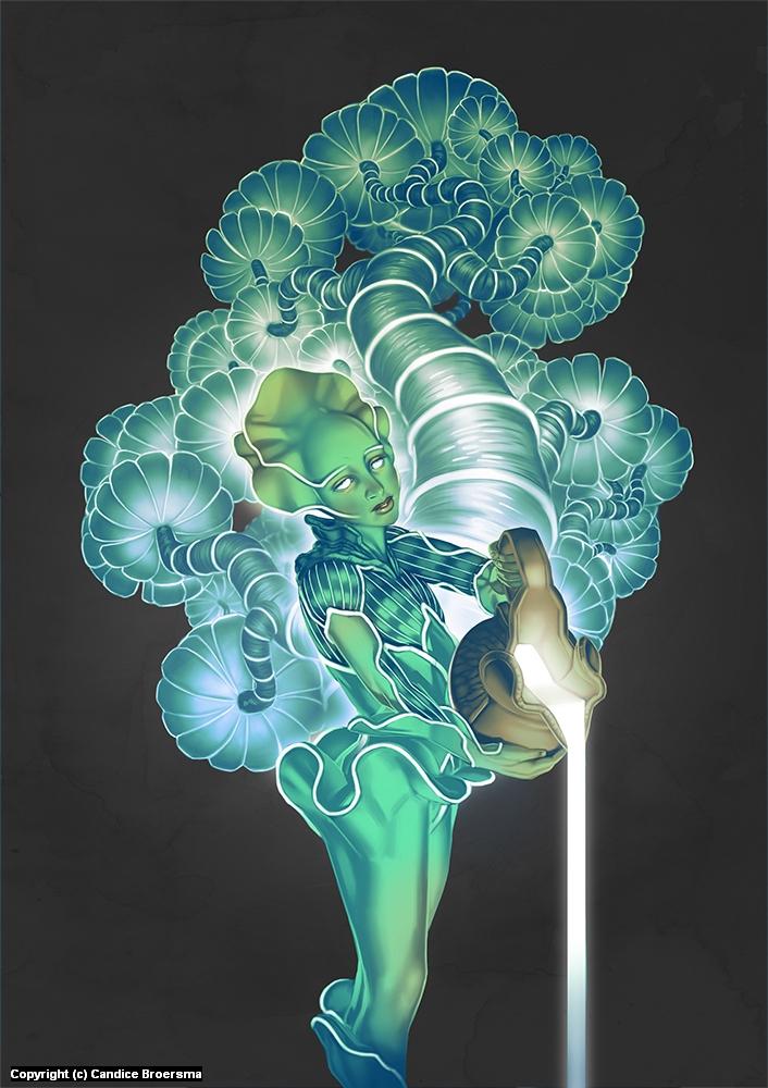 The Lunar Divine Artwork by Candice Broersma
