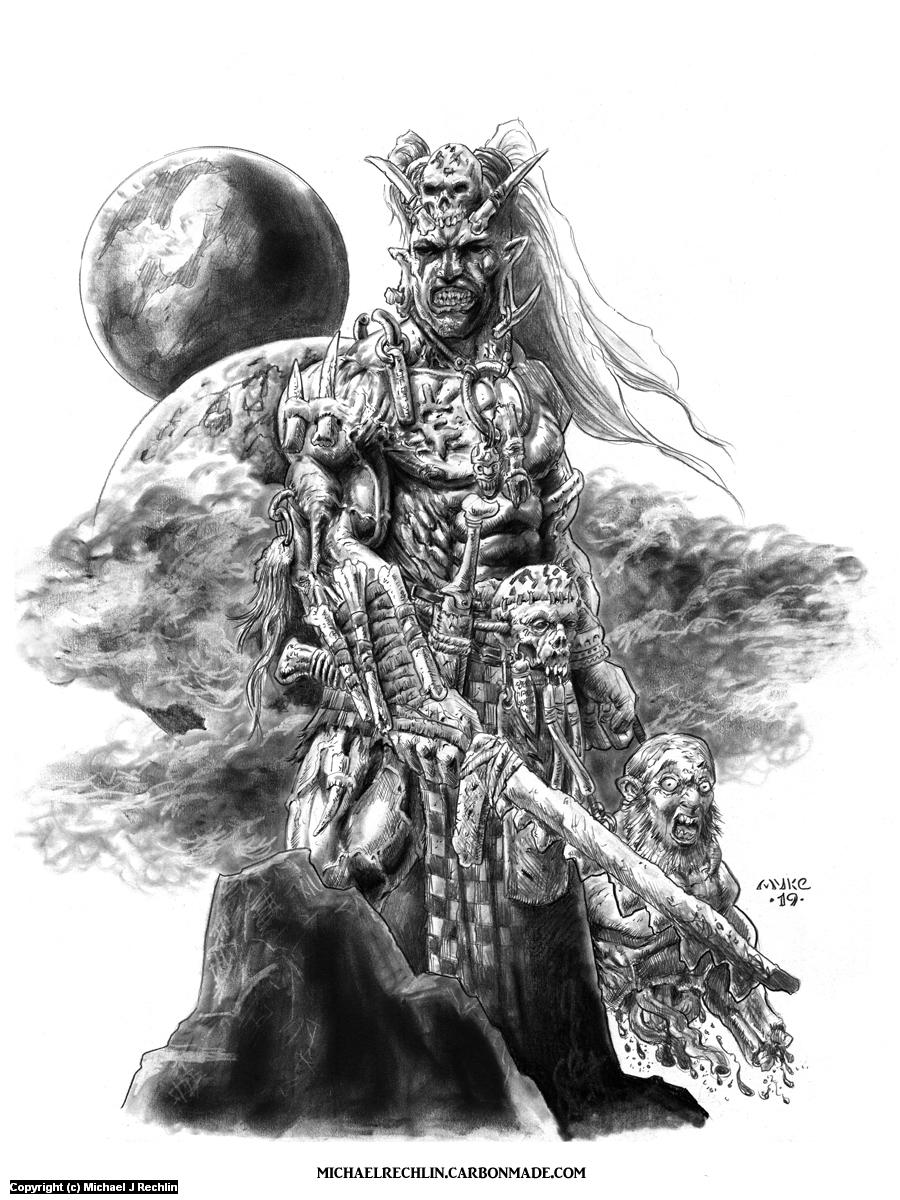 The Edan Artwork by Michael Rechlin