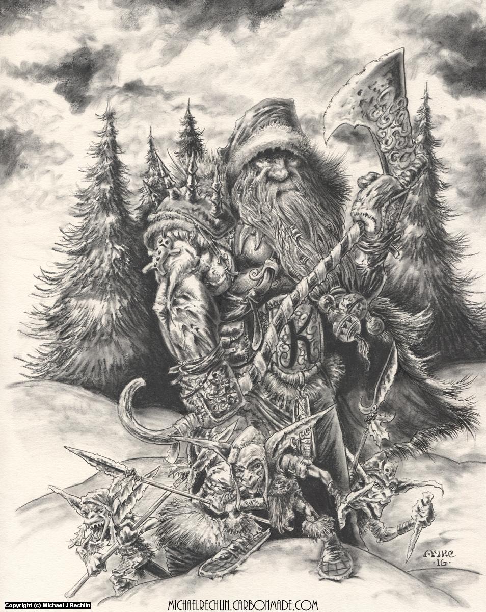 Kringle Artwork by Michael Rechlin