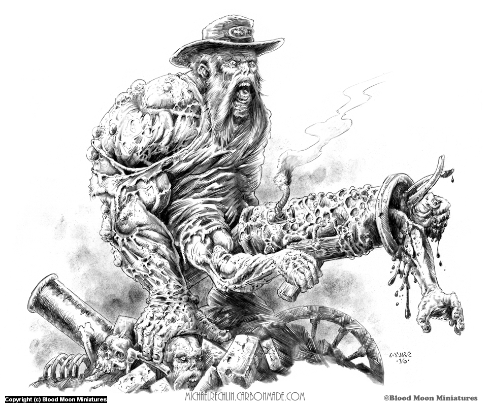 Confederate Mutant Concept Artwork by Michael Rechlin