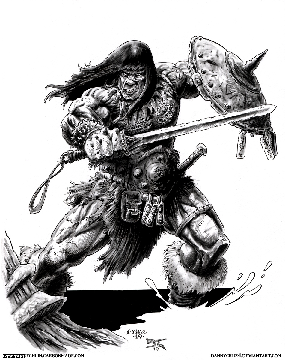 Conan Collab 2 Artwork by Michael Rechlin