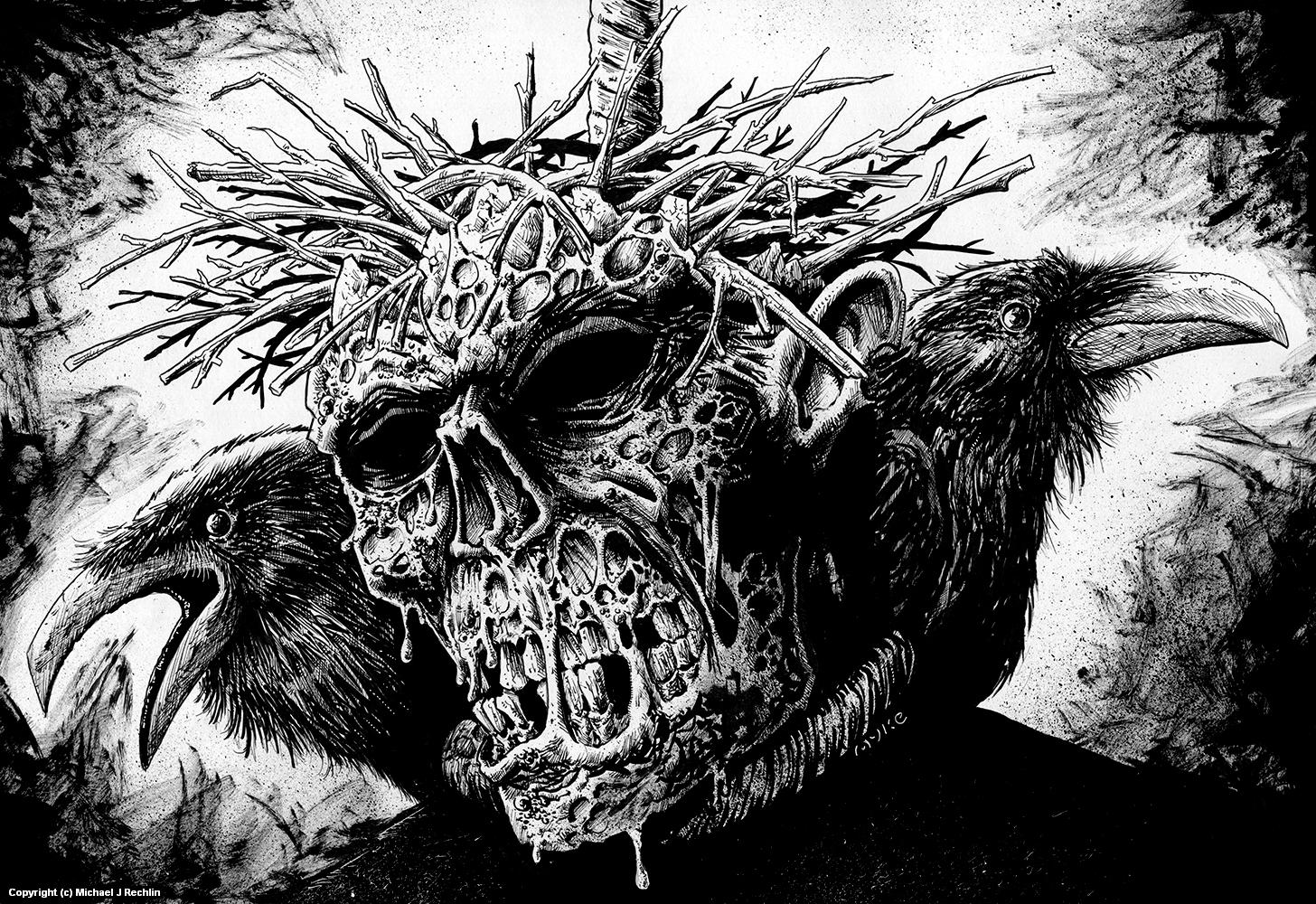 Worthless? Artwork by Michael Rechlin