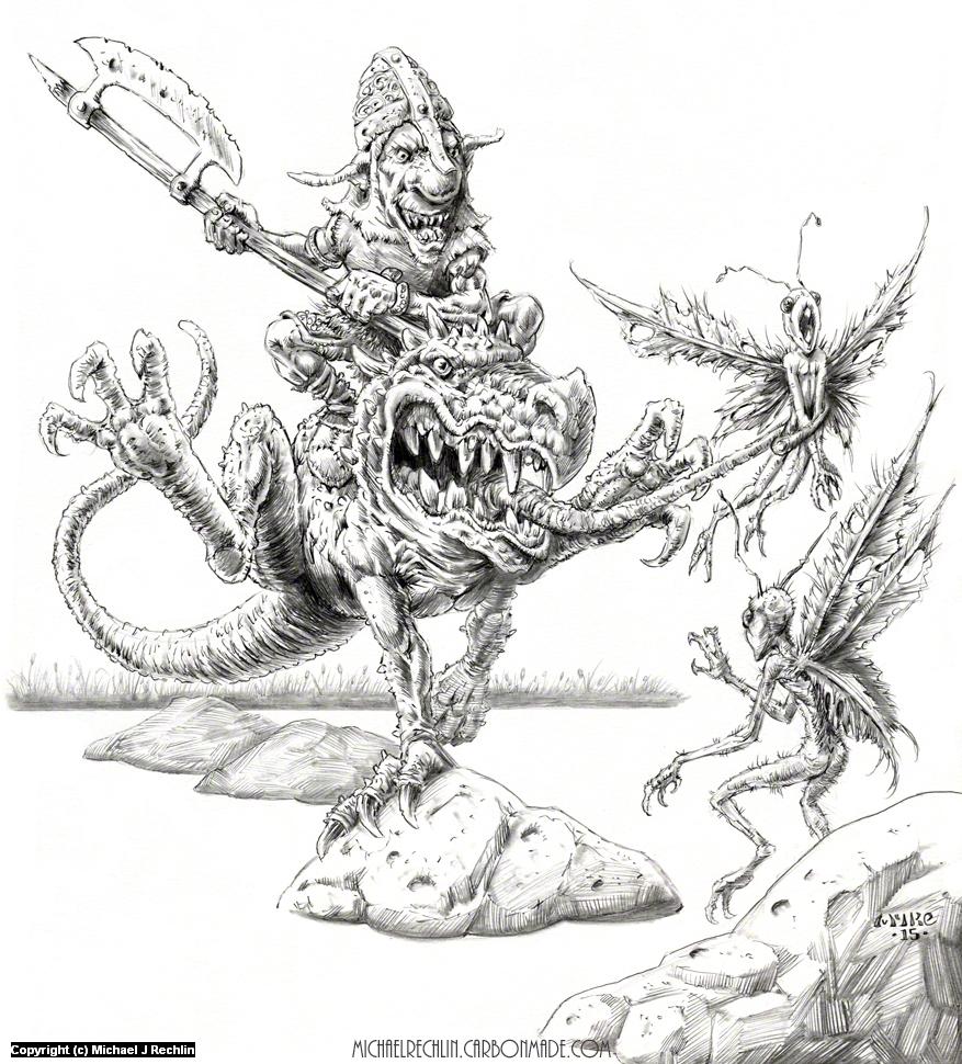 Exterminators Artwork by Michael Rechlin