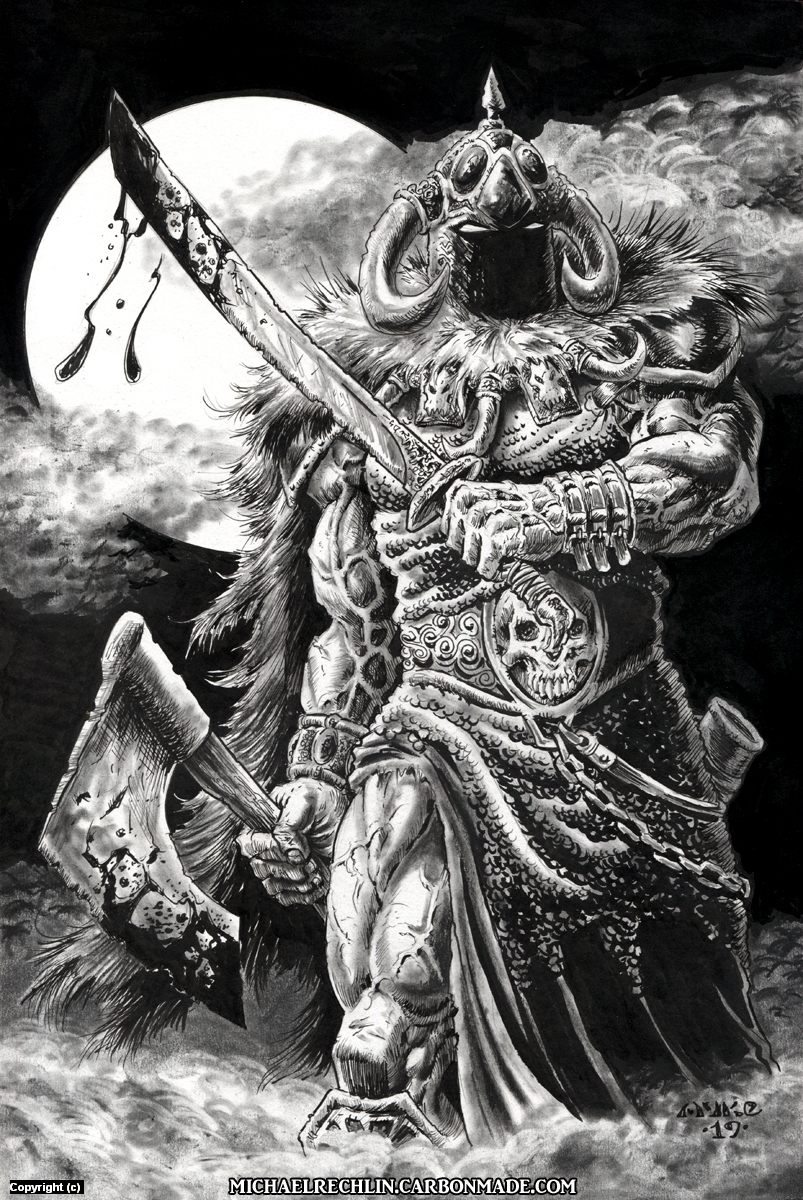 Death Dealer Artwork by Michael Rechlin