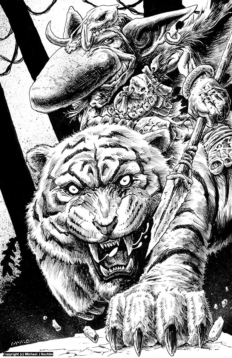 Jungle Patrol Artwork by Michael Rechlin