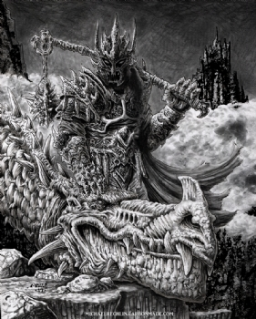 The Witch King of Angmar Comic Art